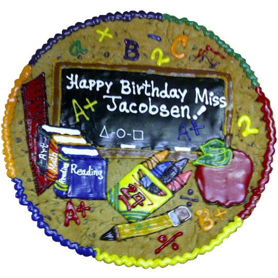 Special School Message Cake